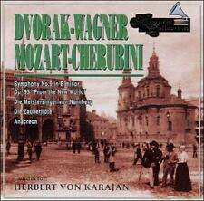 HERBERT VON KARAJAN CONDUCTS DVORAK, WAGNER, MOZART, CHERUBINI USED - VERY GOOD