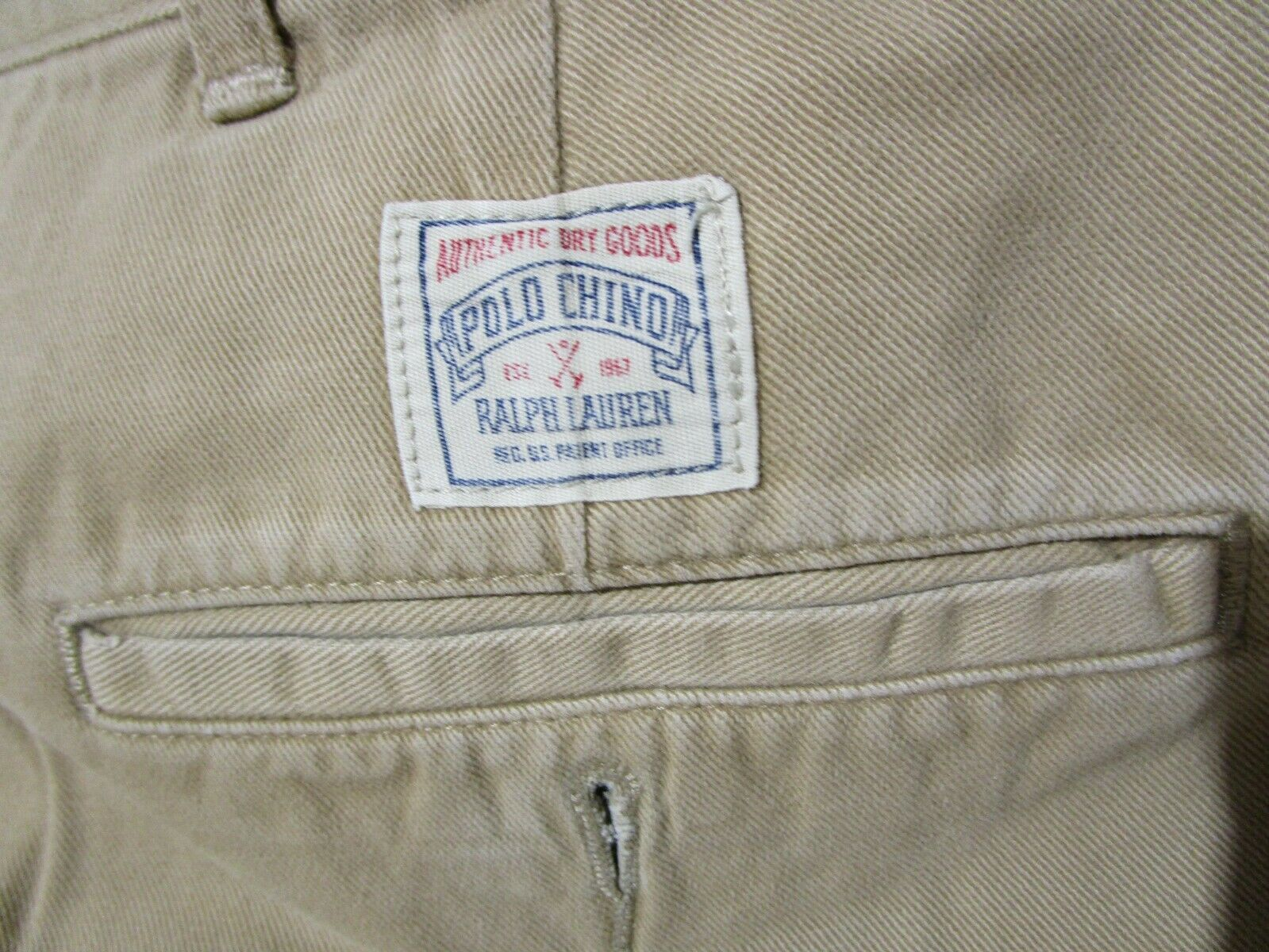 VINTAGE 90'S MEN'S POLO BY RALPH LAUREN CHINO DRE… - image 7