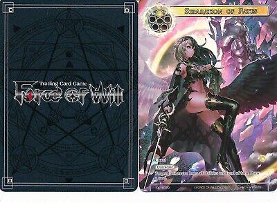 the White Dragon Full Art Promo Force of Will PROMO Gwiber RL1611-2