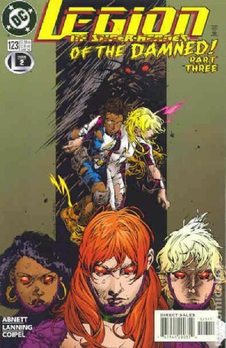 Legion of Super-Heroes #123 VF 2000 Stock Image