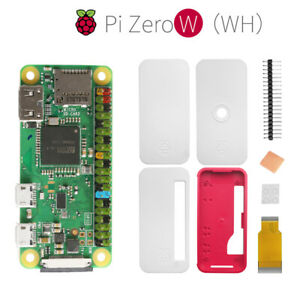 Details about Raspberry Pi Zero WH Pre-Soldered Headers Wireless LAN +  Protection Case Kit