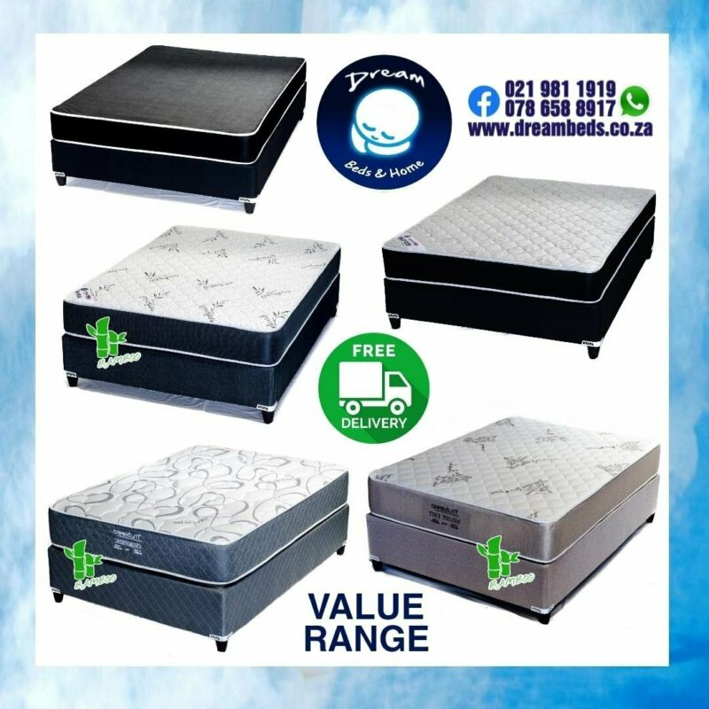 FREE DELIVERY - Reliable BEDS on Sale from R1699 - R7099