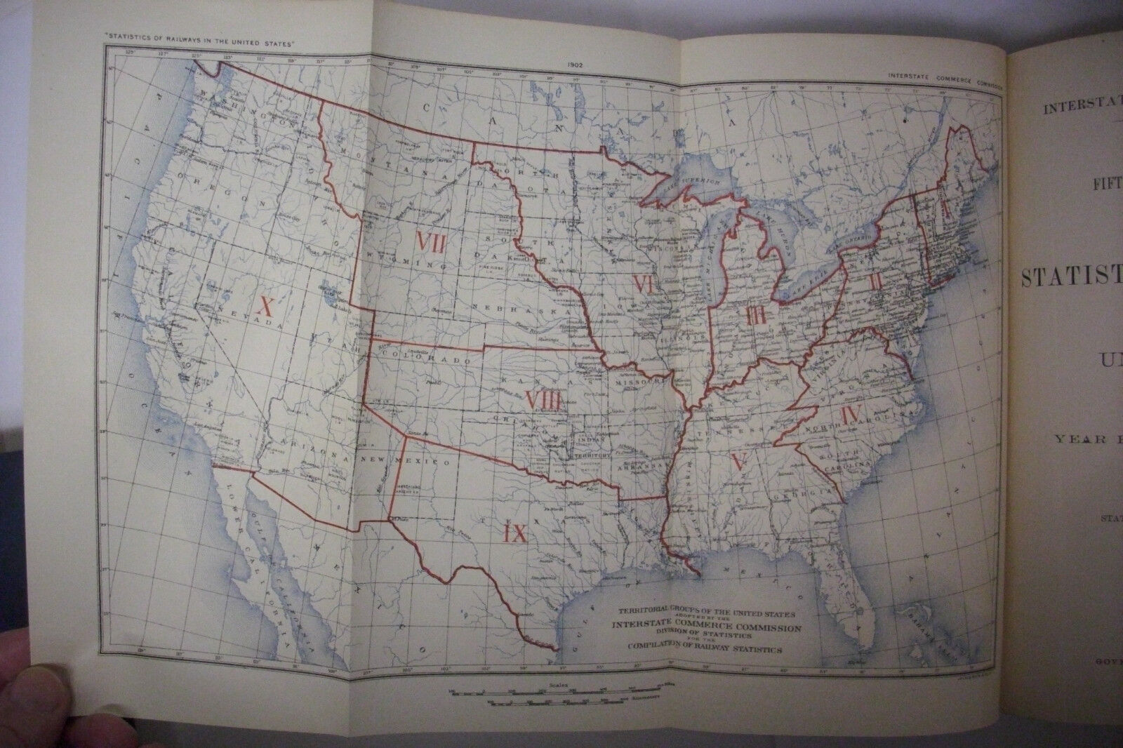 1902 ANNUAL REPORT ON THE RAILWAYS IN THE US RailroadTrainsw