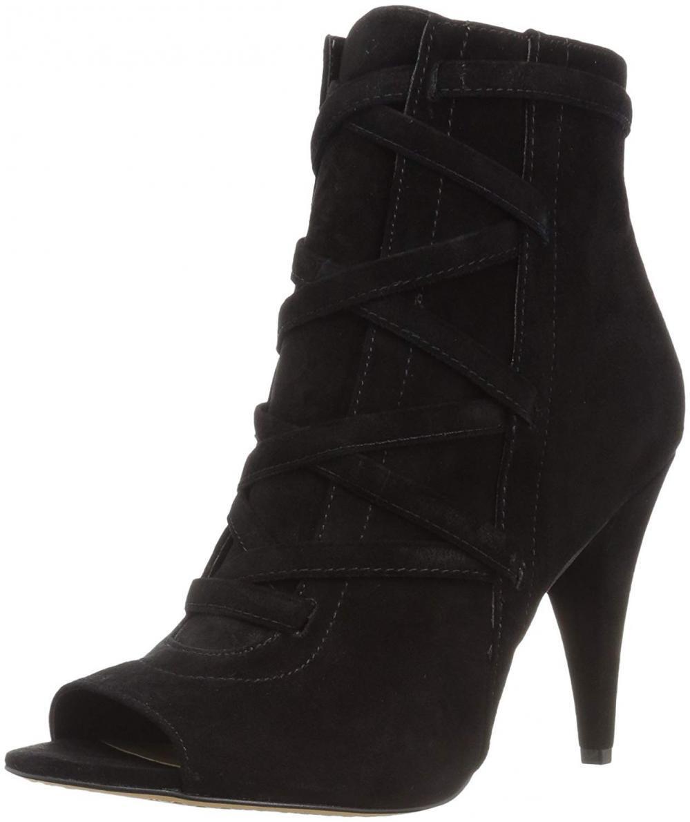 Vince Camuto Women's Aranda Ankle Boot High Heel Heel Heel Leather Platform Strappy Corset a57e0d