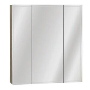 Zenith Frameless Tri-View Medicine Cabinet 43197009159 | eBay