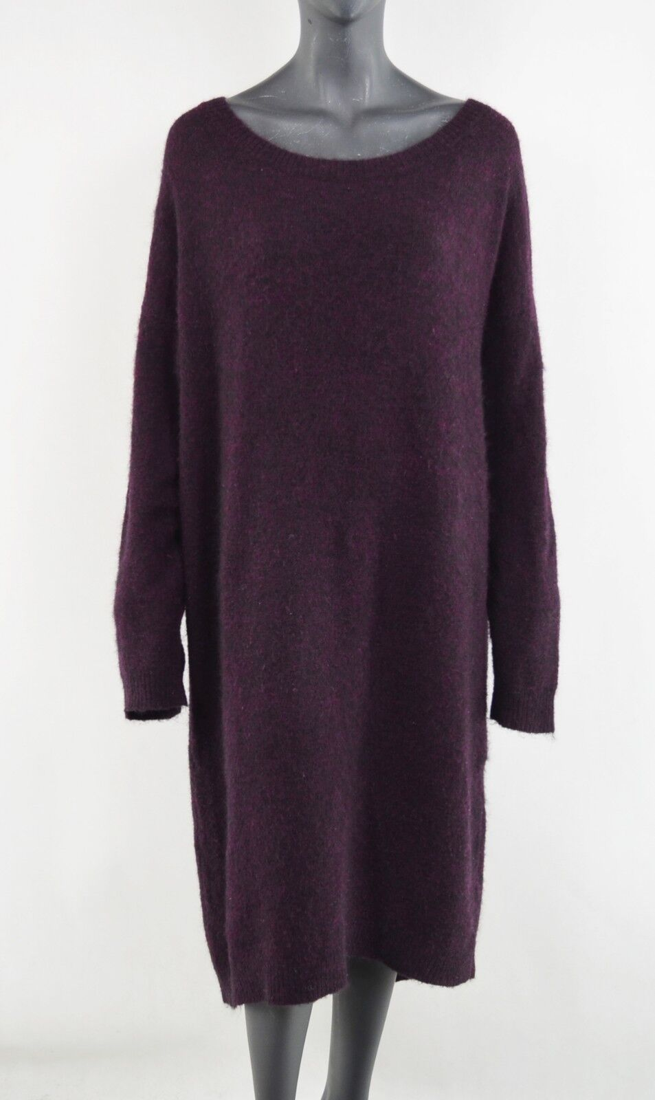 GESTUZ – Mohair + Wool Knit Long Dress Größe  XL