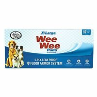 Four Paws Wee-wee Pads, Extra Large, 40-pack , New, Free Shipping