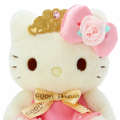 Hello Kitty Sanrio plush doll /& GODIVA 2020 Chocolate