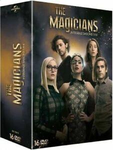 COFFRET DVD SERIE FANTASTIQUE : THE MAGICIANS SAISONS 1 à 4 INTEGRALE - 1 2 3 4