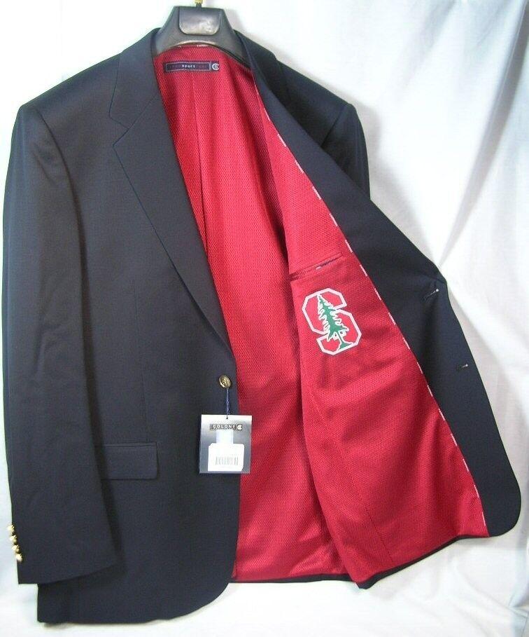 Stanford University Team Blazer Licensed Logo Sport Coat Short- Regular - Tall