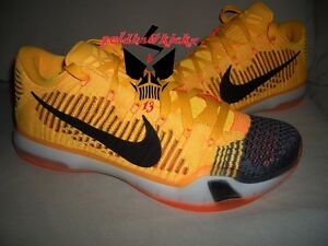 sports shoes 08bcf 93dde Image is loading Nike-Kobe-X-10-Elite-Low-Rivalry-Chester-