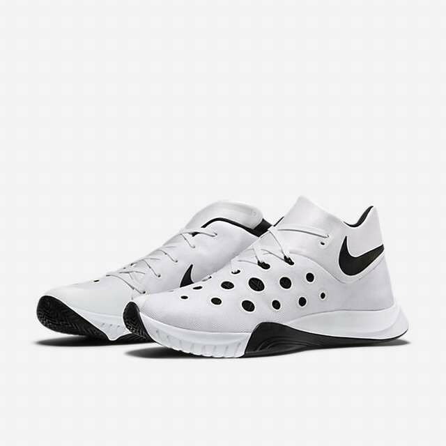 Nike Lunar Hyperquickness 2015 TB White Black basketball 749883-100