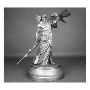 Greece Zeus the Thunderer Tin toy miniature collection 75mm