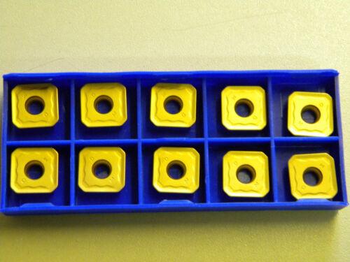 Fräsplatten SEET 12T3-DM YBC 401 kompatibel zum Sandvik-System R245 12T3