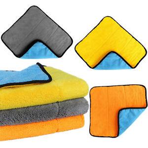 Panno-PULIZIA-PROFONDA-auto-automobile-macchina-lavaggio-asciugatura-microfibra