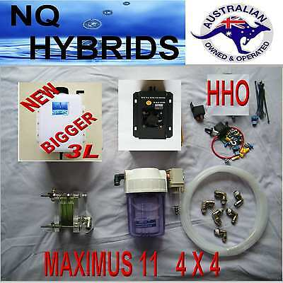 HHO DIY MAXIMUS 11 PLATE  DRY CELL  BUILD IT YOURSELF QUICK RELEASE GEN  SET