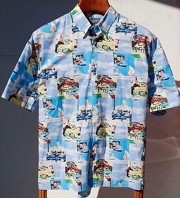 Saturday Evening Post XL Short Sleeve Cotton Aloha Shirt - Norman Rockwell