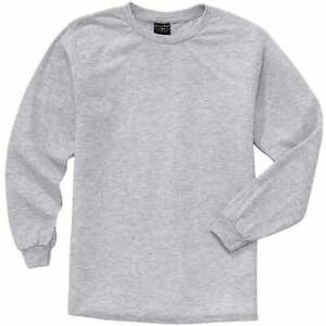 River-039-s-End-UPF-30-Long-Sleeve-Tee-Casual-Tops-Grey-Mens
