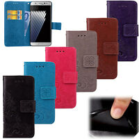 for Samsung Galaxy S7 S7 Edge Leather Case Magnetic Flip Stand Card Wallet Cover