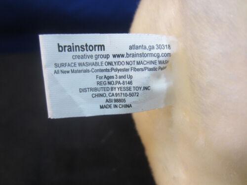 Coca Cola Polar Bear w/scarf 7 Plush Brainstorm Yesse Toy Stofftiere Bean Bags