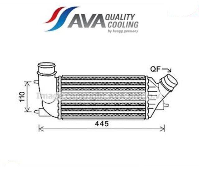 CNA4270 Intercooler (MARCA AVA)
