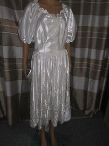 (B64)Edles Damen Braut Standesamt Abend Kleid GR: GR: 42 ...