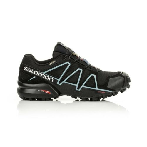 Salomon Speedcross 4 GTX Women's shoe BlackBlackMetallic Bubble Blue