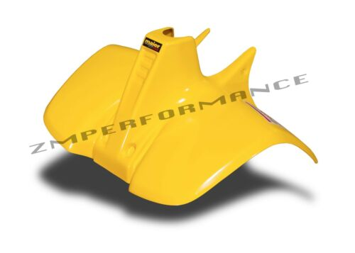 NEW SUZUKI LT50 84-87 QUADRUNNER PLASTIC YELLOW FRONT FENDER LT 50 PLASTICS