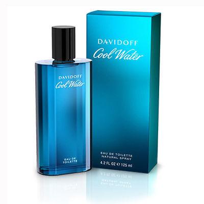 Davidoff  Cool Water EDT for Men 125ml   Genuine Davidoff Men's Perfume
