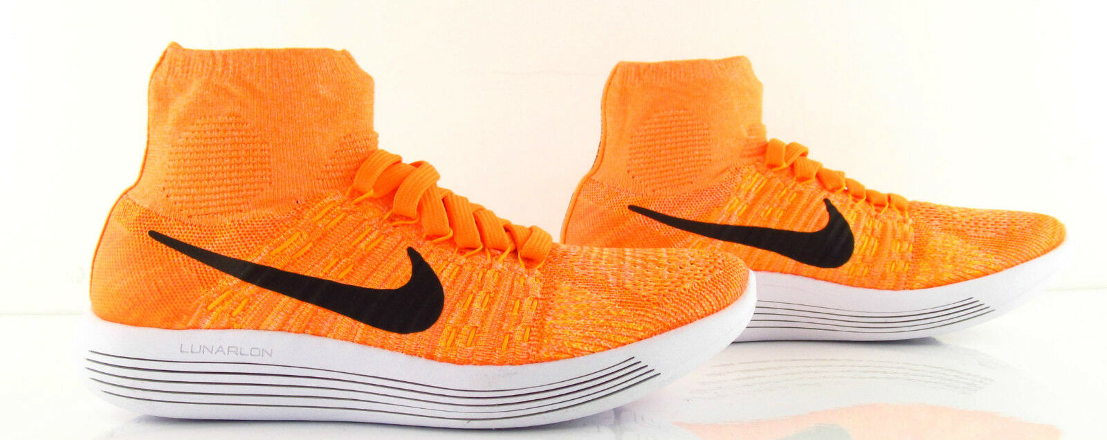 Nike Wmns Lunarepic Flyknit Laser Total orange Running New US_7.5 UK_5 Eur 38.5