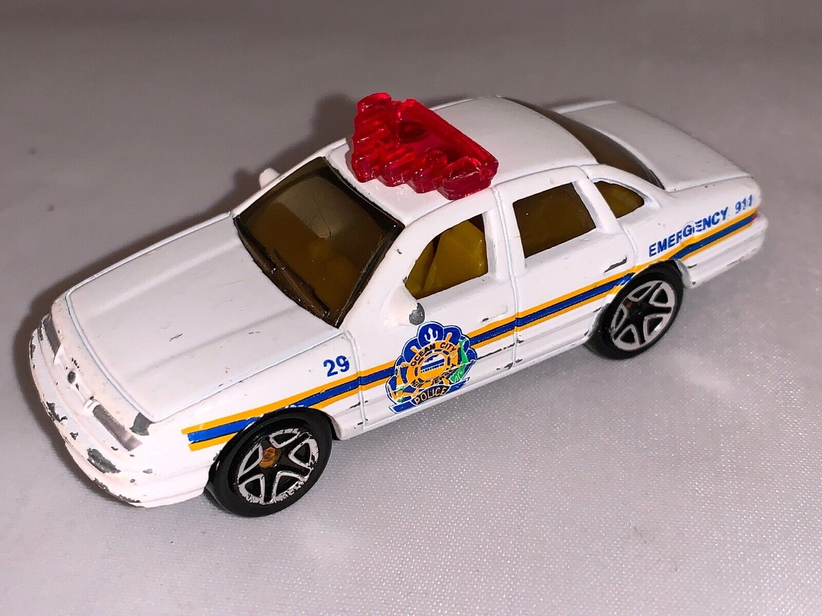 Vintage Matchbox 1970 1996 FORD Crown Victoria Police Voiture 3