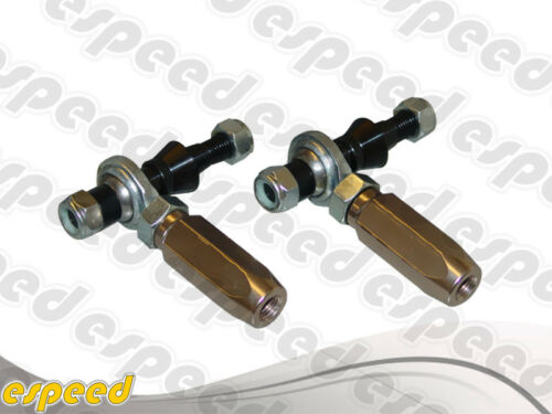 TCS FRONT ADJUSTABLE OUTER TIE ROD ENDS FOR NISSAN 95-98 240SX S14