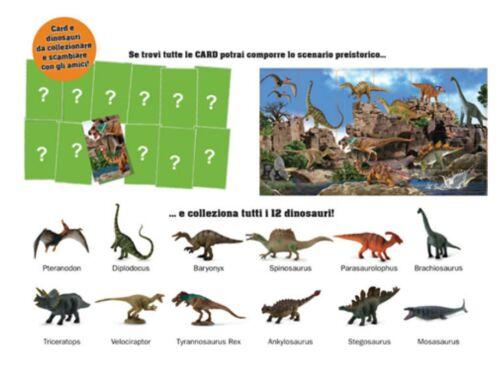 nuovo-IT DINOSAURI  ANIMALI PREISTORICI REALTA/' VIRTUALE PREHISTORIC 60061.CTA