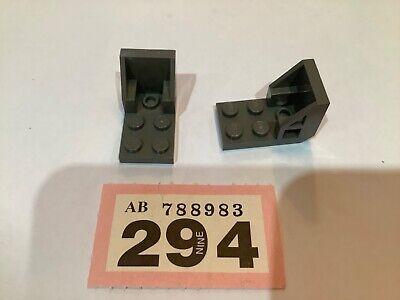 2x Bracket 3x2-2x2 Sièce Chair Space Space Seat Black//Black 4598 New Lego
