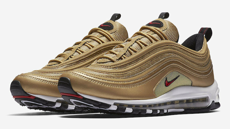 AIR MAX 97 Gold BULLET OG BRAND NEW IN BOX NOT CR7 UK 4.5, 5 6 7 8 9 10 11