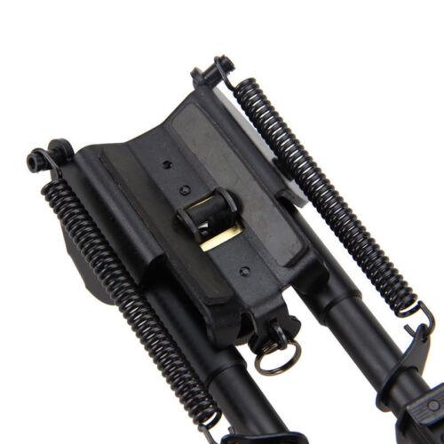 """Universal 6-9/"""" Harris stile Bipods Heavy Duty 50 GRADI GIREVOLE TILT-livello PIVOT"""