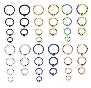 GOLD-BLUE-RAINBOW-Ball-Closure-Captive-Ring-BCR-Lip-Nose-Ear-Tragus-Septum-Ring
