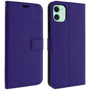 Vintage-Series-flip-wallet-case-for-Apple-iPhone-11-Purple