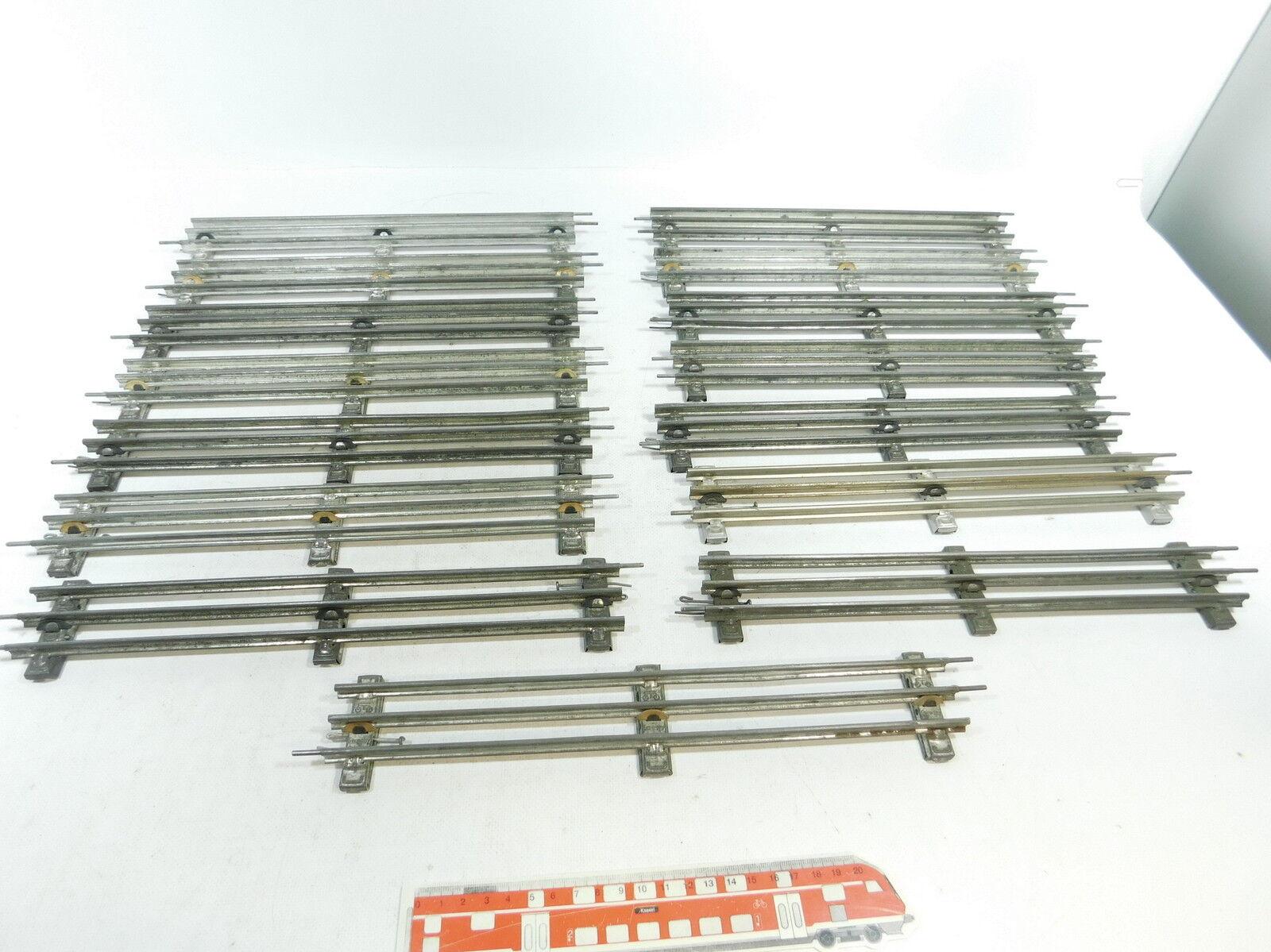 Bb530-2 15x   Traccia 0 BINARIO DRITTO  32 cm  PER ELETTRICA OPERAZIONE