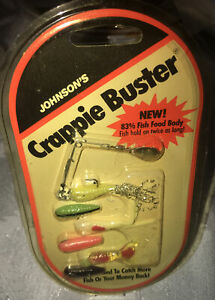 JOHNSON'S CRAPPIE BUSTER SPINNER/JIG RIG KIT