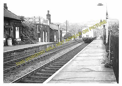 Brockholes Railway Station Photo 1 Honley to Stocksmoor and Holmfirth Lines.