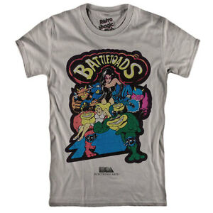 d1a17b1e758 Image is loading Battletoads-T-Shirt-RARE-NES-Game-1991-gameboy