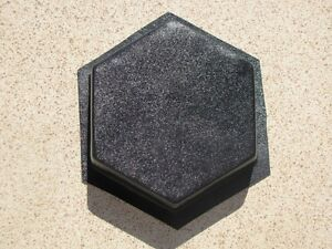 Image Is Loading 6 HEXAGON DRIVEWAY PAVER Amp PATIO MOLDS MAKE