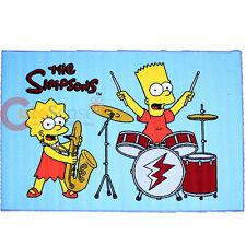 "Simpson Family Bart and Lisa Carpet Accent Mat Area Rug 39""x58"" - Ensemble"