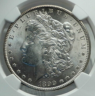 1899 UNITED STATES of America SILVER Morgan US Dollar Coin