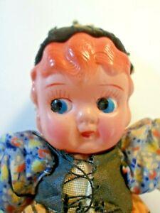 Vintage-Carnival-Celluloid-6-034-Googly-Kewpie-Princess-Estate-Collection-Doll