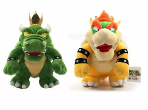 Details About Super Mario Bros King Koopa Bowser Plush Toy Stuffed Figure Doll Kids Gift New