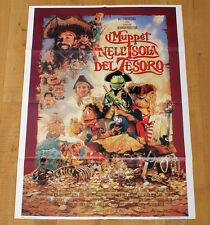 I MUPPET NELL'ISOLA DEL TESORO poster manifesto Treasure Island Disney Tim Curry