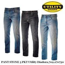 Diadora Utility Pant Stone 5 PKT 170750 Jeans elasticizzati