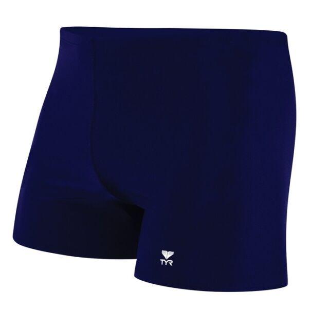 TYR Apparel SSQU1A Sport Mens Square Leg Short Swim Suit Choose SZ//Color.